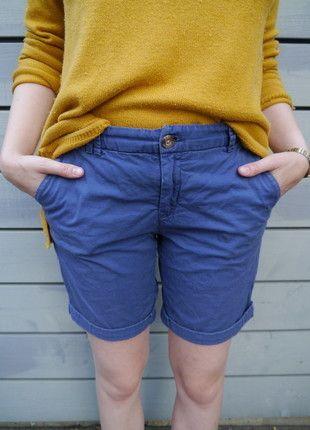 Bequeme #Caprishorts in #blau frisch auf #Kleiderkreisel http://www.kleiderkreisel.de/damenmode/caprihosen/135976648-bequeme-capri-shorts-in-blau-von-hm