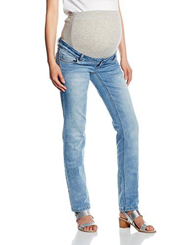 #MAMALICIOUS #Damen #Umstands #Mltina #Regular #Jeans, #Blau #(Medium #Blue…