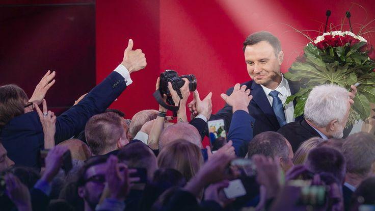 """""""Sueddeutsche Zeitung"""": wybór Andrzeja Dudy to prawie jak wypadek przy pracy #wybory2015 #Polska"""
