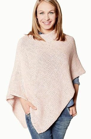 DIY-Anleitung: Poncho stricken mit Charity-Statement-Garn via DaWanda.com