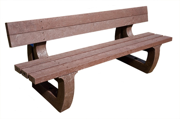 Awesome plaswood bench.