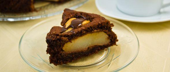 Pure chocolade met peren