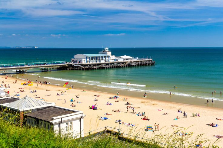 Pier and beach, Bournemouth