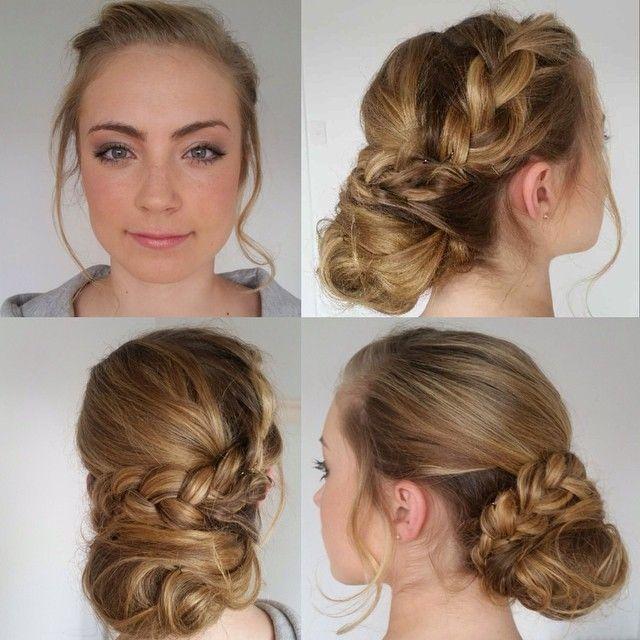 """Bit of blushbar grad hair & makeup love! #hairbygez #makeupbyshannon #hair #hairup #hairupdo #makeup #makeupbar #makeupartist book online at blushbar.com.au"" Photo taken by @blush_bar on Instagram, pinned via the InstaPin iOS App! http://www.instapinapp.com (10/29/2015)"