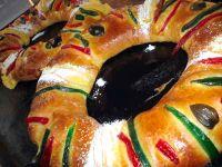 La Rosca de Reyes - Three Kings Bread - Feast of the Epiphany (twelth Night)