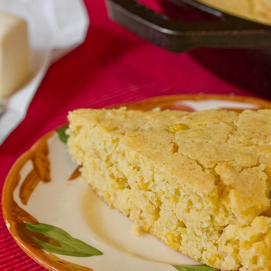 Side Dish Recipe: Easy Skillet Cornbread with Creamed Corn Recipes from The Kitchn