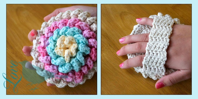 Shower Scrubby (pattern is found at http://thegardenbell.blogspot.com/2011/06/i-aint-no-bser-pattern-reveal.html)