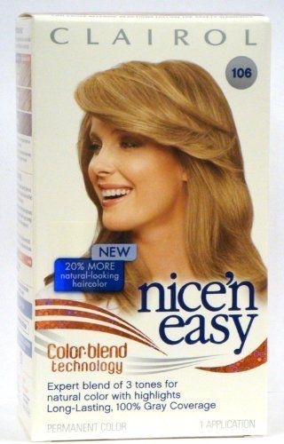 Clairol Nice 'n Easy Color -106 Natural Medium Ash Blonde (Pack of 2) -- Be sure to check out this helpful article. #hairnourishing
