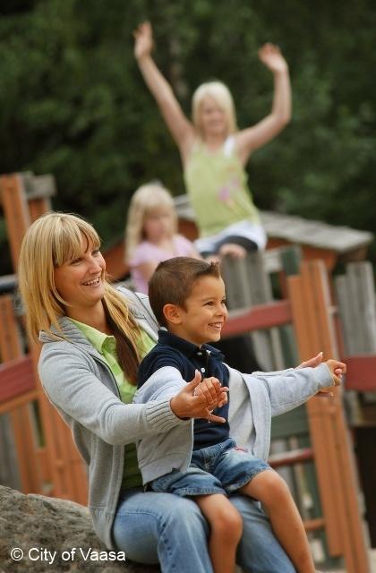 The amusement park Wasalandia @ Vaasa, www.visitvaasa.fi