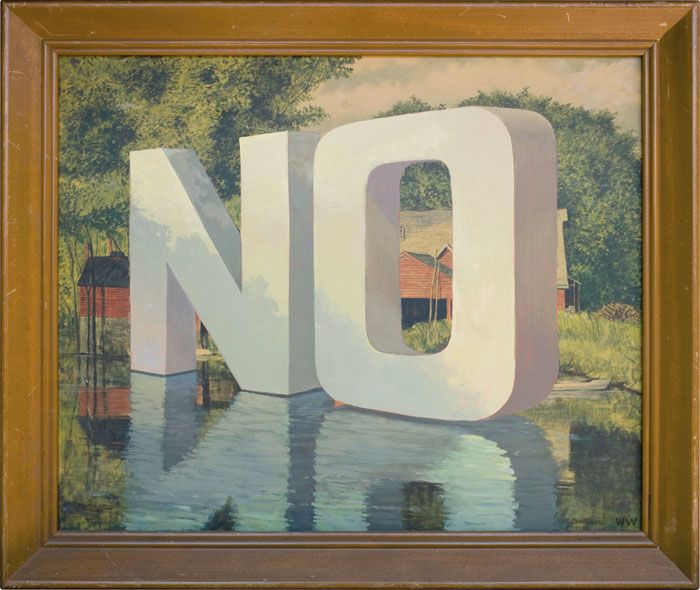 No by Wayne White