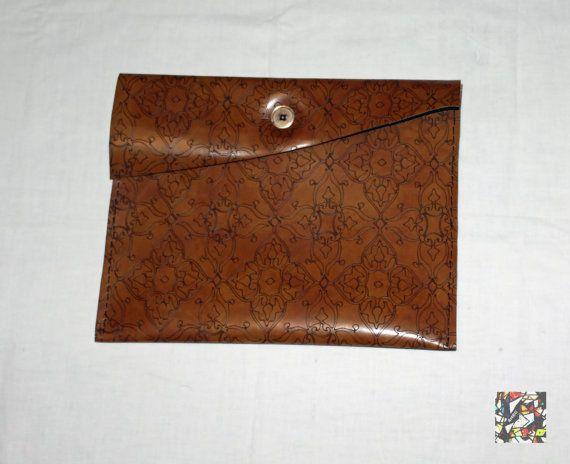 Mini Intarsia Borsa in finta pelle fatta  a mano di CreazioniArtEC