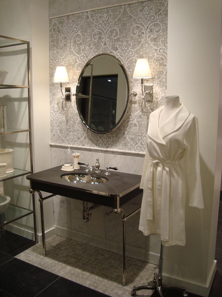 Bathroom Display in the Miami Showroom