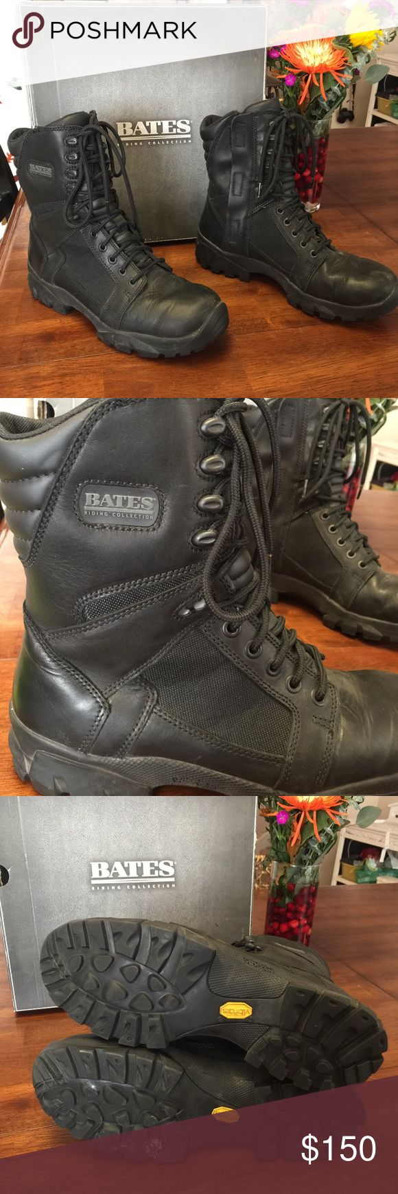 Men's Escalante Waterproof motorcycle boots Bates Men's Escalante Waterproof motorcycle riding boots Bates size 10, very gently used, no excessive wear. Bates Shoes Boots