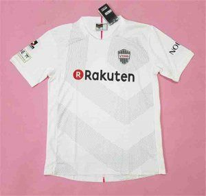Vissel Kobe 2017-18 Season Away White J.LEAGUE Shirt Jersey [K16]