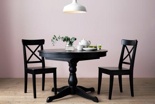 die besten 25 ikea esstisch ausziehbar ideen auf pinterest wand esstisch bilderwand ikea und. Black Bedroom Furniture Sets. Home Design Ideas