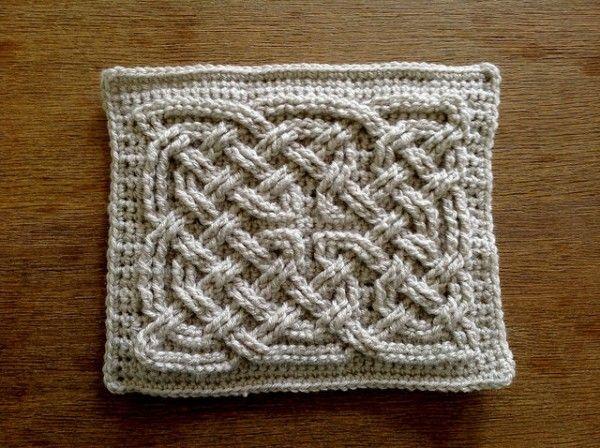 Celtic Knot square free #crochet pattern from Suvi's Crochet