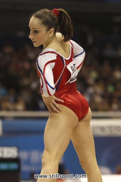 high school gymnast butts