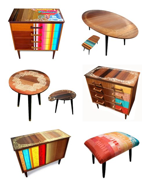 Zoe Murphy  Screen printed furniture  ... I'm soooo going to try this out and I have the perfect piece of furniture to try this out on!!!
