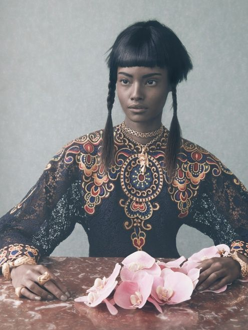 a-state-of-bliss: Vogue Italia March 2014 'An Up-To-Date...
