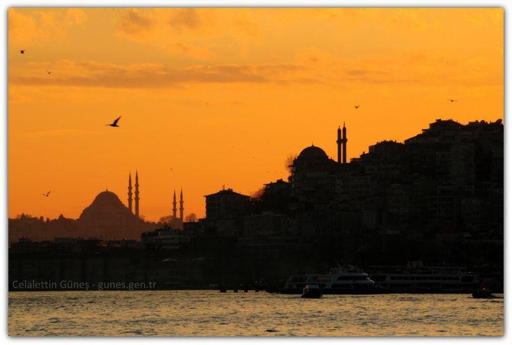 Şubat, İstanbul ve akşam