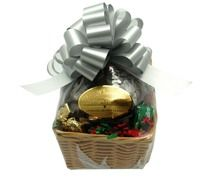 Dark Chocolate Wilbur Buds & Roasted Cashews Hostess Basket - great house warming gift!