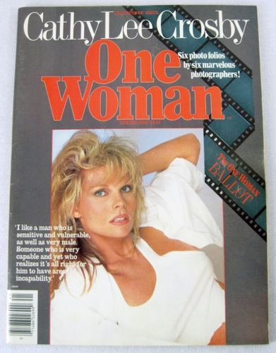 Cathy Lee Crosby 1984 One Woman Six Photo Folios By 6 Photographers Mega Rare