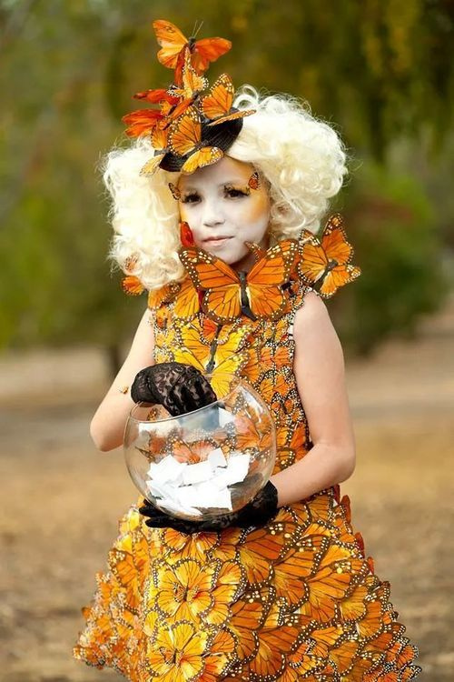 Effie Trinket from Hunger Games Halloween Costume