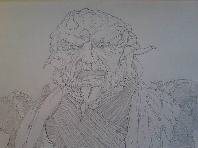 Ivan Ooze from the first ever Mighty Morphin Power Rangers movie.  Size: 8.5'x11'  For Sale: $25 shipping covered in cost!