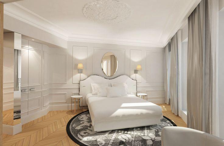 Actuellement en rénovation l'hôtel Trinité Haussmann rouvrira bientôt ses portes. Maquette de nos futures chambres