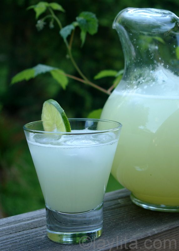 Best Lemonade or Limeade ever!  No squeezing - use the entire lemon or lime.  Not bitter....delicious!!