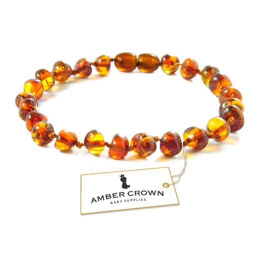 Amber Teething Bracelet / Anklet