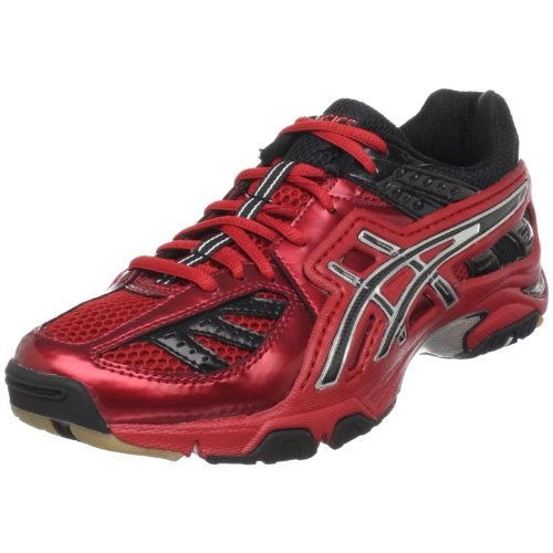 ASICS Men's GEL-Volley Lyte Volleyball Shoe,Red/Black/Silver,11.5 ...