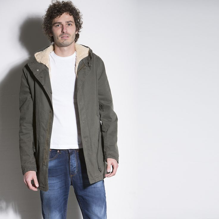 PARKA BASE #parka #italogy #italogyofficial #madeinitaly #authentic #italian #couture #musthave #man