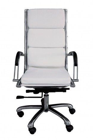 KARE Prague - Office Chair Relax Napalon White High