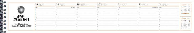 Custom Promotional Calendars - U390 Keyboard Planner