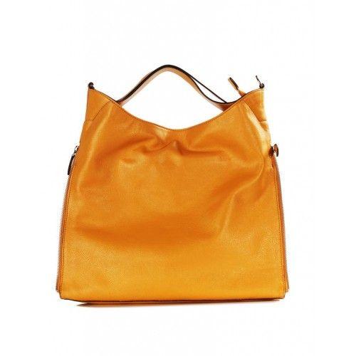 Alita Sarı Deri Çanta