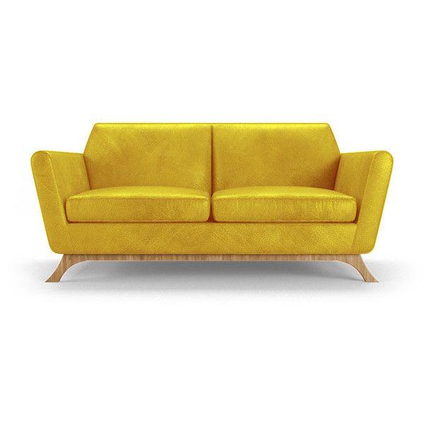 Yellow Leather Sofa Roselawnlutheran