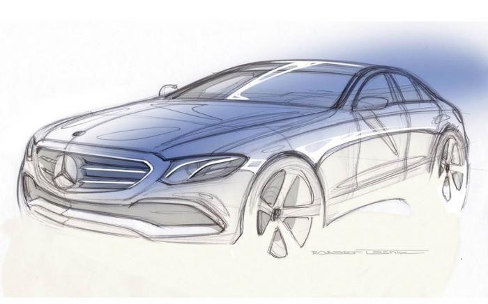Mercedes-Benz Clase E, adelanto   Automovil Panamericano