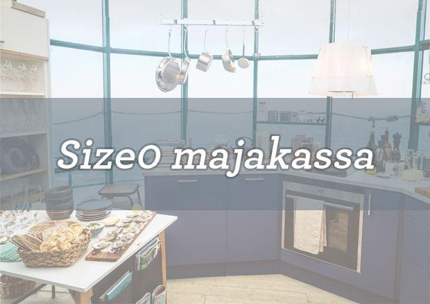 Rakensimme Size0-keittiön majakkaan. | Petra-keittiöt | #size0kitchen