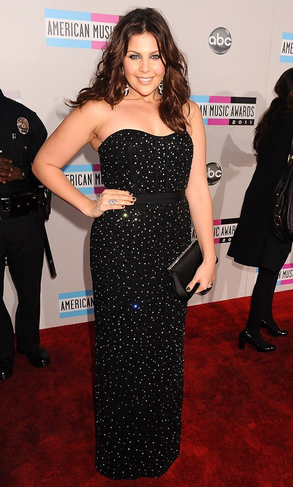 Lady Antebellum's Hillary Scott at the 2011 American Music Awards