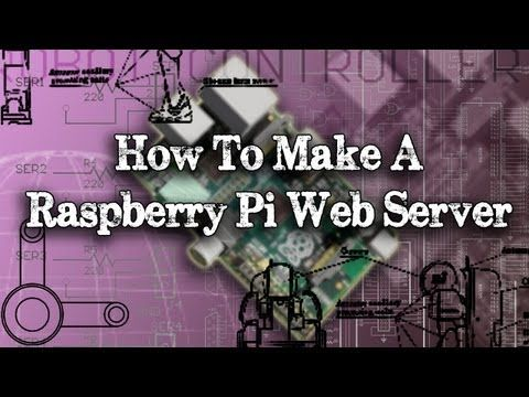 Tinkernut - Weekend Hacker: Make A Raspberry Pi Web Server - YouTube