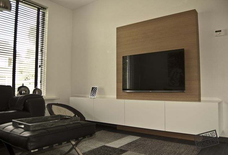 wohnzimmer tv wand modern. Black Bedroom Furniture Sets. Home Design Ideas