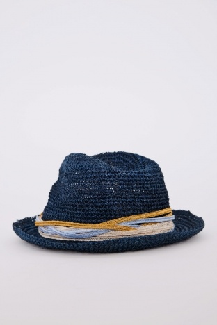 BEAMS+  Abaca Ribbon Hat