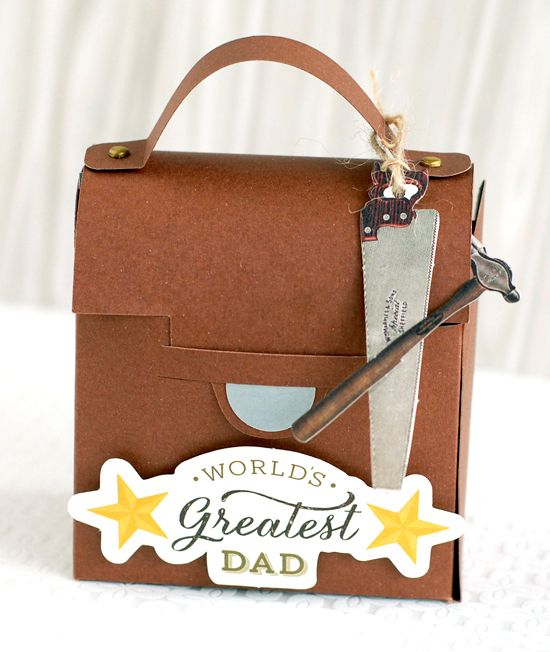 Beautiful in the Making: Father's Day Toolbox & Gift Card Holder | Anna's Blog