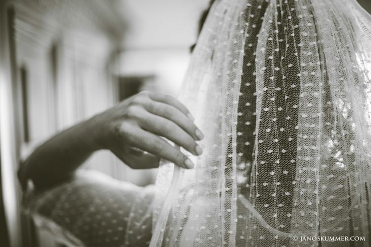 dotted veil for wedding velo a pois #veil #dotted
