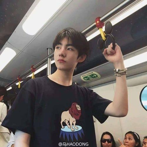 Ma Hao Dong Ulzzang boy Korean Fashion Black Clothes