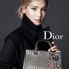 ジェニファー・ローレンスが、ディオールのアイコンバッグ「ディオリッシモ」のキャンペーンに登場の写真3