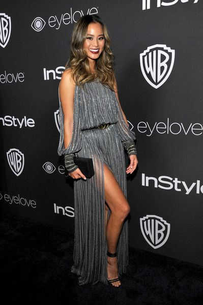 Jamie Chung in Amanda Wakeley - The Most Gorgeous After Party Looks from the 2017 Golden Globes - Photos