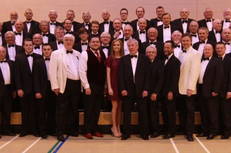 Sophie Evans takes to stage as Pendyrus Male Choir celebrates 91st anniversary - Wales Online