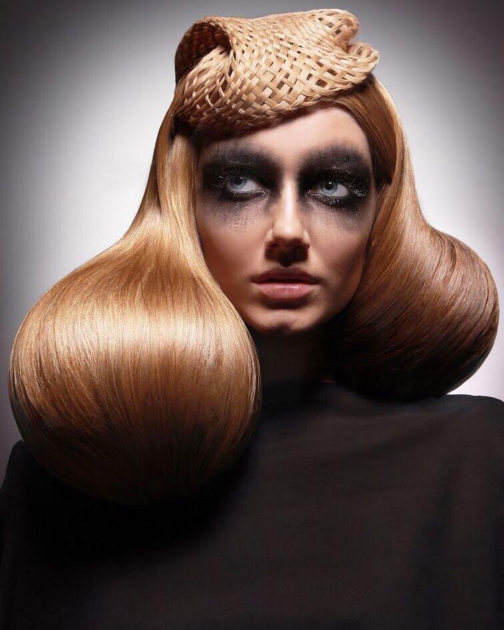 Hairdresser Karimova Anastasiya.RHDA 2015